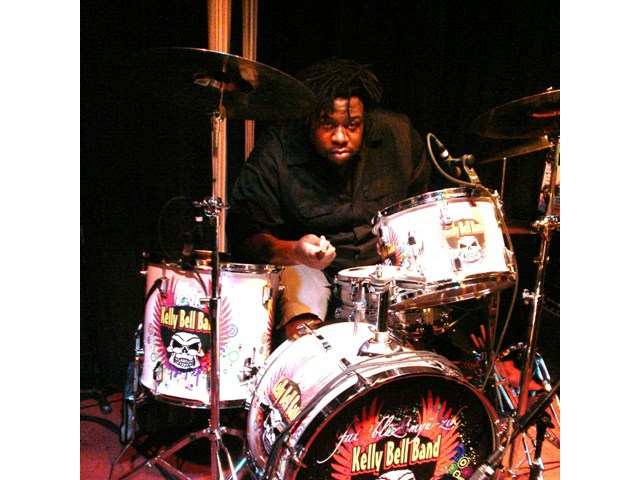 CJ Johnson of The Kelly Bell Band