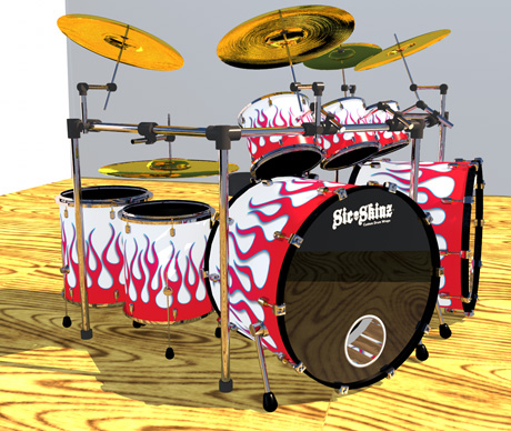 Mad Drummer-Flame