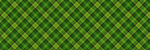 Lime Linear Plaid