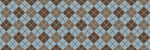 Blue & Brown Argyle