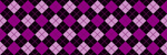 Purple & Black Argyle
